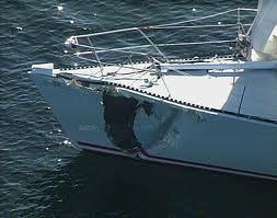 Boat damage