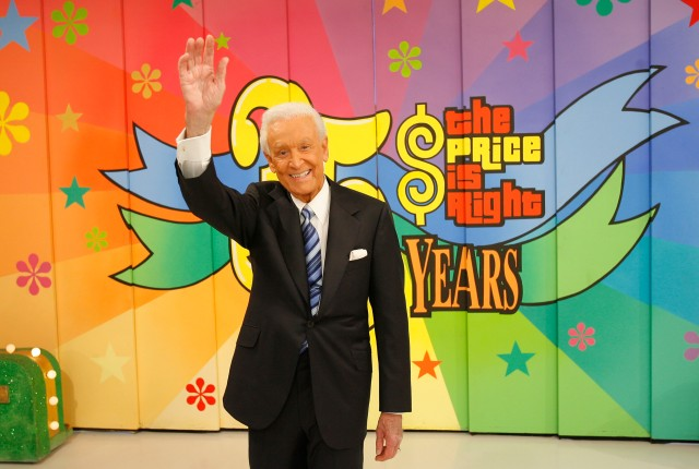 "Bob Barker Tapes His Final Episode Of ""The Price Is Right"""